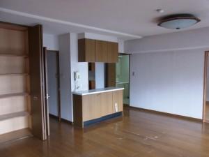 築20年ぐらいのマンションです。