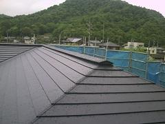 屋根 横葺き 藏家