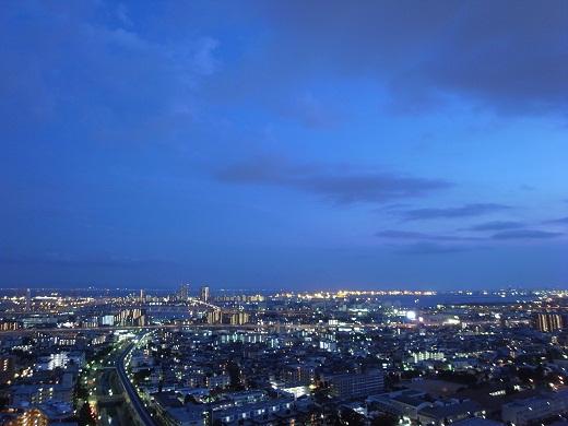 プラウドタワー夜景