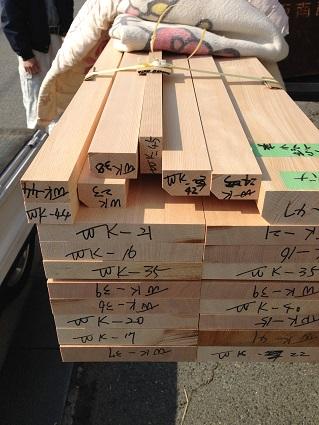 マスタープランさん木のマンションリノベーションI様邸 窓枠材2