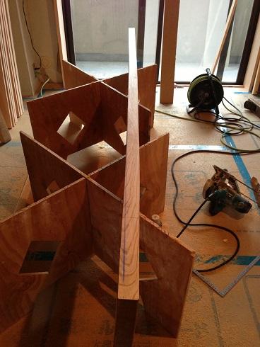 13:マスタープランさん 欅玄関框加工2