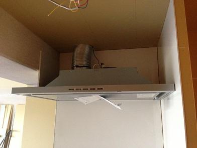 マスタープランさん設計 I様邸 キッチン換気扇1
