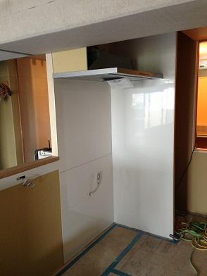 マスタープランさん設計 I様邸 キッチン換気扇2