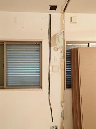 堺市I様邸電気工事2