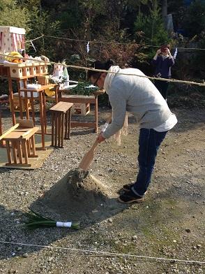 8・山の棲家地鎮祭