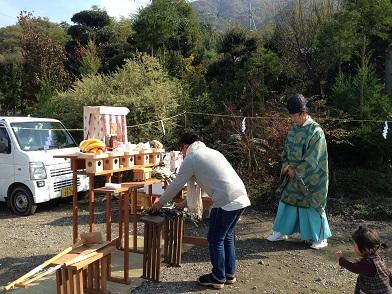 11・山の棲家地鎮祭