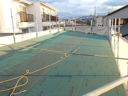 6 ㈱藏家事務所屋根改装
