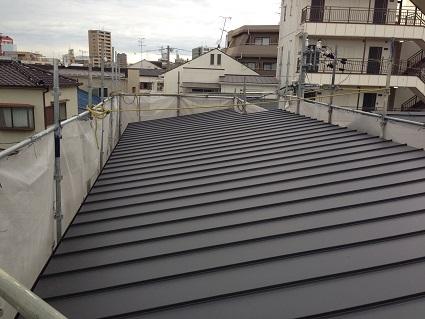 7 ㈱藏家事務所屋根改装