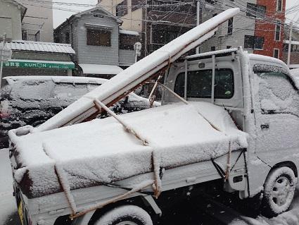 0.雪の軽トラ1