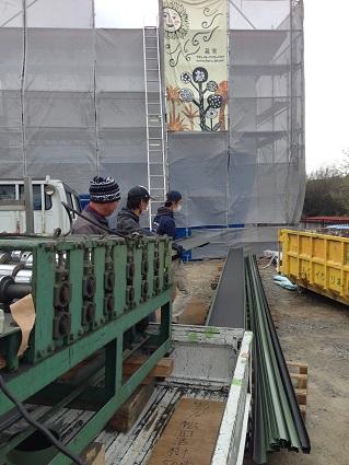 34 八尾「山の棲家」屋根工事