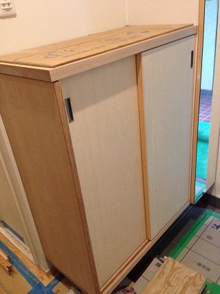24 甲子園N様邸建具塗装工事