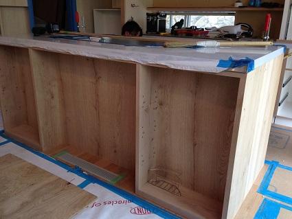 23 「山の棲家」造作家具キッチン