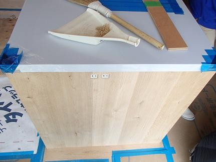 27 「山の棲家」造作家具キッチン