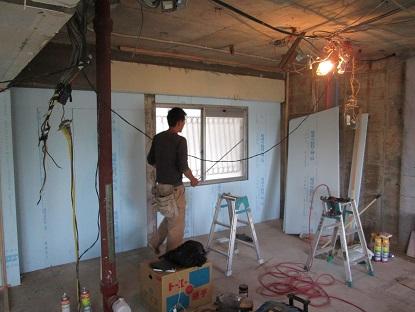 1 N様邸木のマンションリノベーション 外壁面断熱改修