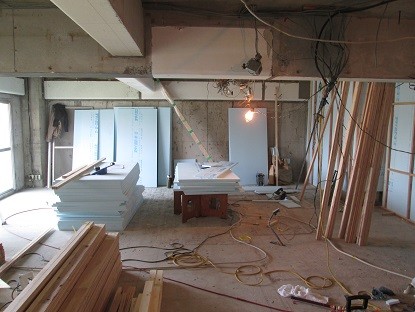 2N様邸木のマンションリノベーション 外壁面断熱改修