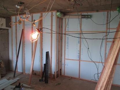 3N様邸木のマンションリノベーション 外壁面断熱改修