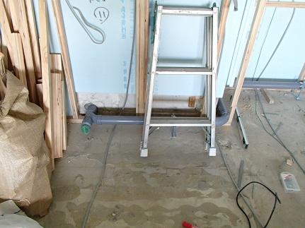 6N様邸木のマンションリノベーション 排水