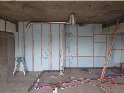 7N様邸木のマンションリノベーション 給排水