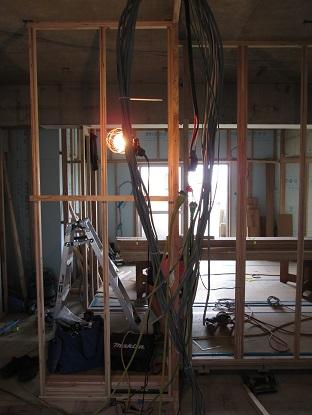 18 N様邸木のマンションリノベーション 間仕切り壁