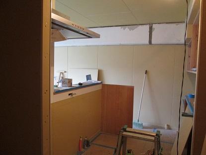 32 N様邸木のマンションリノベーション 大工造作キッチン