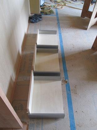 34 N様邸木のマンションリノベーション 大工造作キッチン