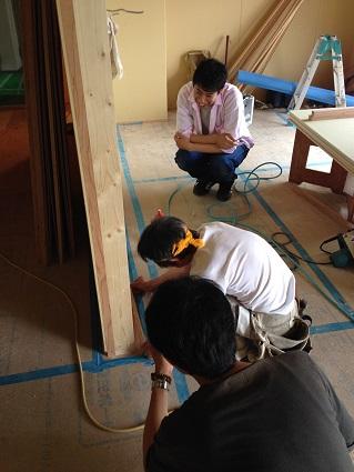 39 N様邸木のマンションリノベーション 巾木