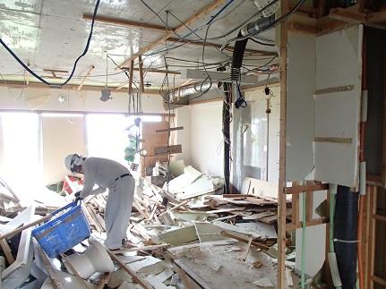 9 千里山・木のマンションリノベーションI様邸 解体