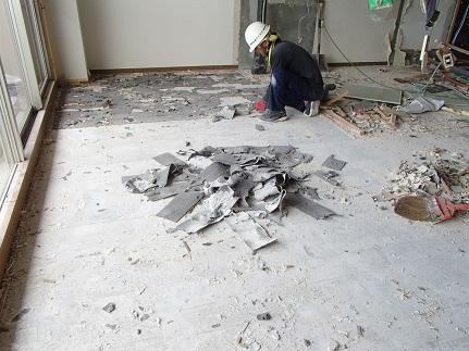 13  千里山・木のマンションリノベーションI様邸 解体