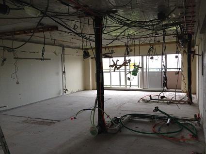 14  千里山・木のマンションリノベーションI様邸 解体