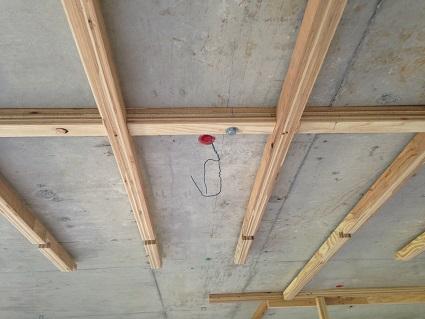 36 千里山・木のマンションリノベーションI様邸 天井下地