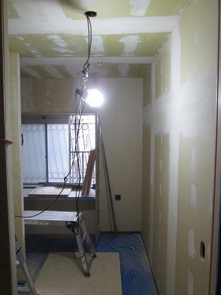 6 N様邸木のマンションリノベーション クロスボードジョイント処理