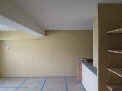 8 N様邸木のマンションリノベーション 天井珪藻土クロス