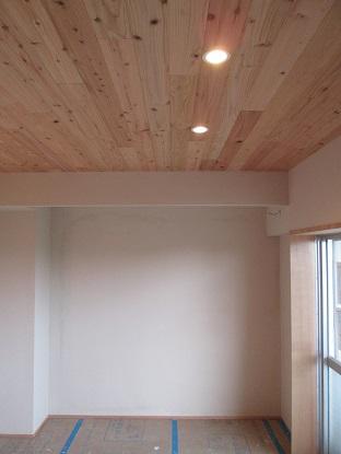 24 N様邸木のマンションリノベーション 照明器具取付け