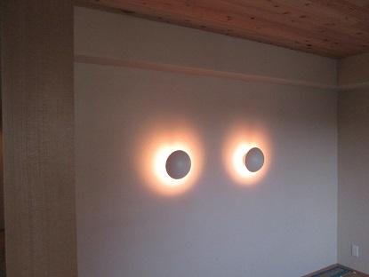 25 N様邸木のマンションリノベーション 照明器具取付け