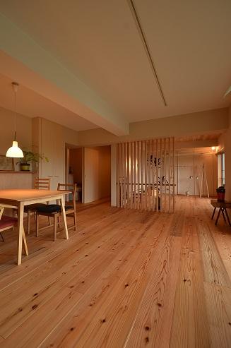 39 N様邸木のマンションリノベーション 完成見学会