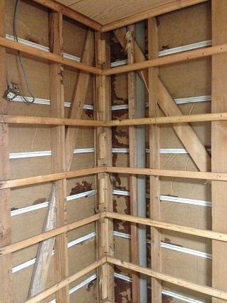 10 藏家の1階新事務所改装工事解体開始