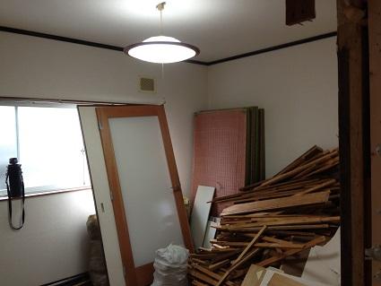 2 藏家の1階新事務所改装工事解体