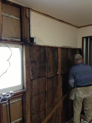 4 藏家の1階新事務所改装工事解体