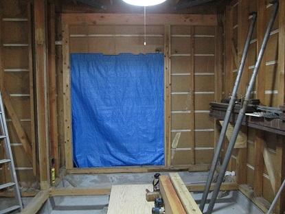 18 藏家の1階新事務所改装工事柱白蟻被害