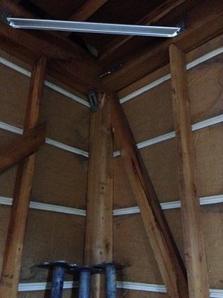 19 藏家の1階新事務所改装工事耐震金物