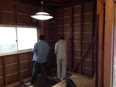 21 藏家の1階新事務所改装工事役所金物検査