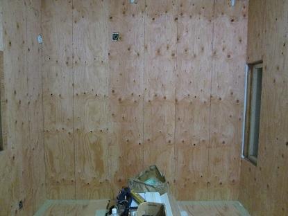 1  藏家事務所リノベーション 耐力壁