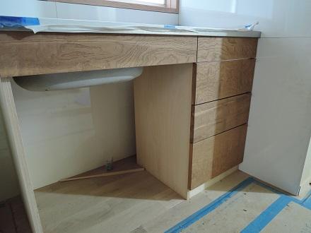 19 藏家事務所リノベーション 大工造作キッチン3