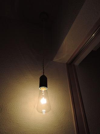 66 藏家新事務所照明器具取付け