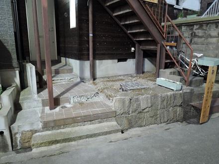 37 藏家新事務所外部階段製作