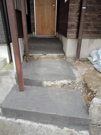 46 藏家新事務所外部階段製作