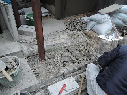 57 藏家新事務所外部階段製作