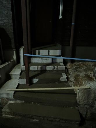 58 藏家新事務所外部階段製作