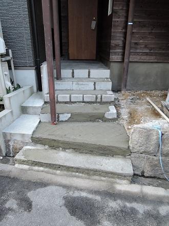 59 藏家新事務所外部階段製作