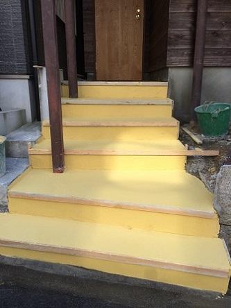 60 藏家新事務所外部階段製作